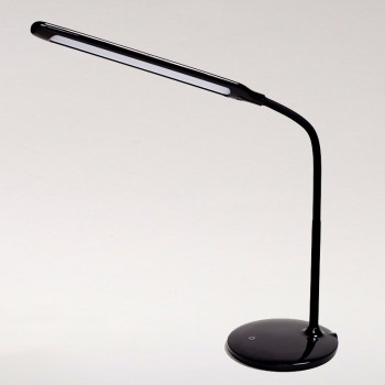 Nero Flexi Desk Lamp Black