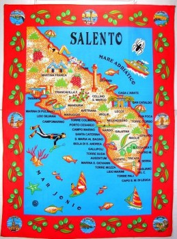 STROFINACCIO TEA TOWEL - SALENTO