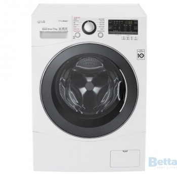 LG 11KG Front Load Washer with True Stea