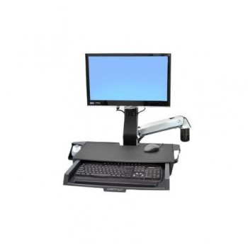 ERGOTRON SV SIT STAND COMBO ARM WORKSURF