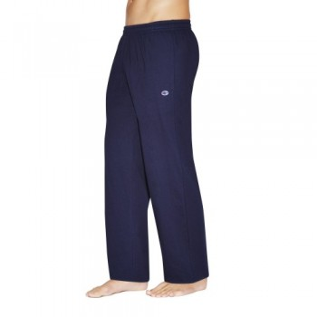 CHAMPION MEN'S JERSEY TRACK PANT - NAVY