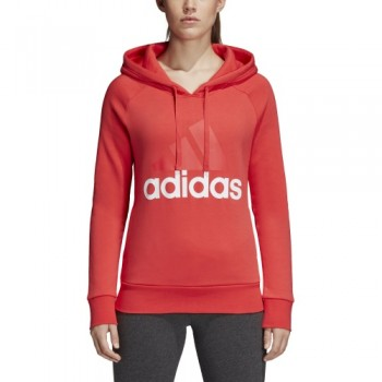 ADIDAS WOMEN'S LINEAR OVER HEAD FLEECE H