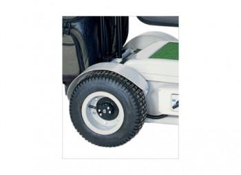 Removable rear wheels