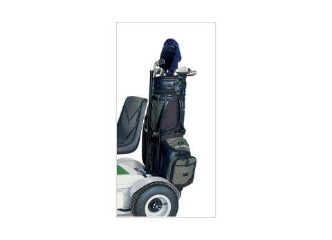 Golf bag carry frame