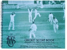 Score Book Cricket Csw Spiral