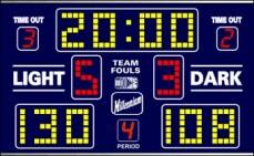 Scoreboard Basketball Millenium