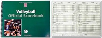 Volleyball Score Book