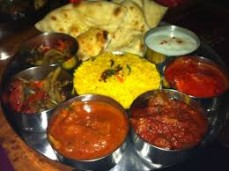 LUNCH TIME THALI - MEAT