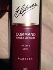 ELDERTON COMMAND SHIRAZ 2010 (SA)