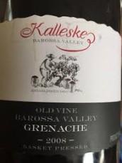 KALLESKE GRENACHE 2008 (SA)