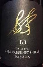 B3 PAULINE CABERNET SHIRAZ 2005 (SA)