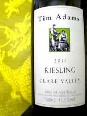 TIM ADAM RIESLING (SA)