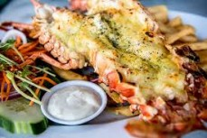 Local Crayfish Mornay or Thermidore