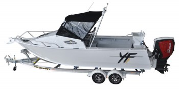 Quintrex 7600 Yellowfin