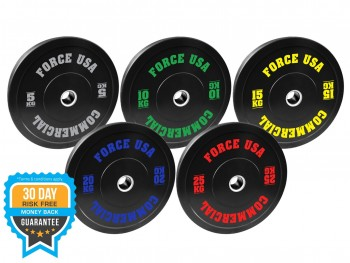 FORCE USA ULTIMATE TRAINING BUMPER PLATE