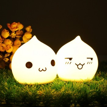 CUTE WATER DROP SILICONE LED NIGHT LIGHT