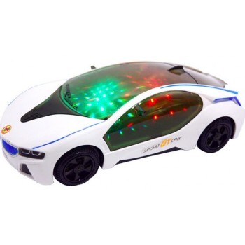 SUPER CAR ELECTRIC TOY WITH FLASHING WHE