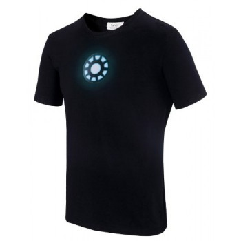 LIGHT UP LED IRON MAN 1 T-SHIRT