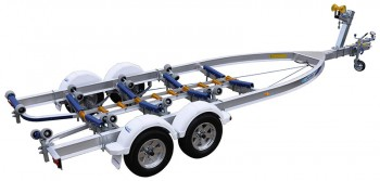 Dunbier Trailer - AGR7.5M-14THE