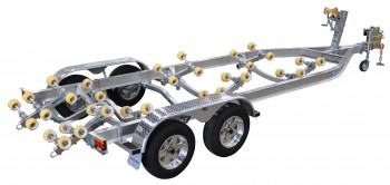 Dunbier Trailer - AS6.5M-14THE-3000kg
