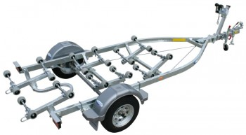 Dunbier Trailer - SRW5.3M-14B WIDE FRAM