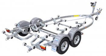 Dunbier Trailer - SRW5.3M-13TB WIDE FRA