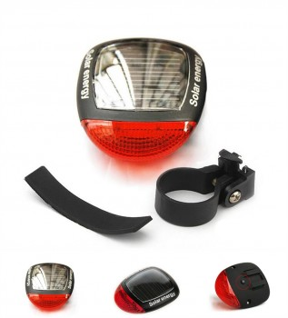 Solar LED Bike Light