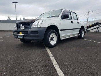 2005 Holden Rodeo DX Crew CAB