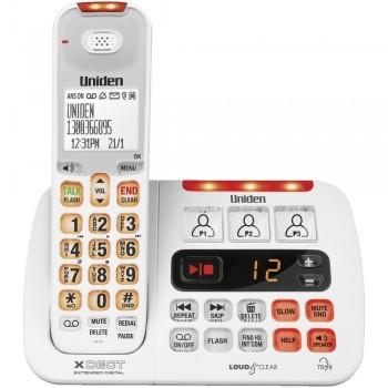 Uniden SSE45 White Single Visual & Heari
