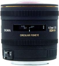 Sigma 4.5mm f/2.8 EX DC Circular Fisheye