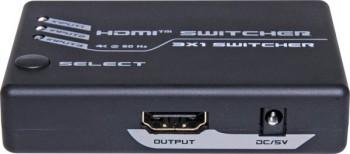 3 Way 4k HDMI Switcher