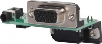 VGA Plug Connection Wallplate PCB
