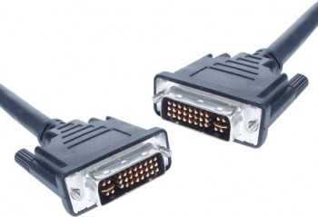 2m DVI-I Dual Link Male to Male Cable