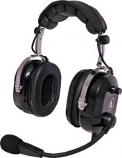 Aviation Headset Flexboom Electret Mic B
