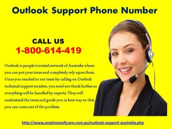 Outlook Support Phone Number 1-800-614-419 |Instant Service