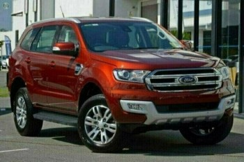 2017 Ford Everest Trend 4WD Wagon