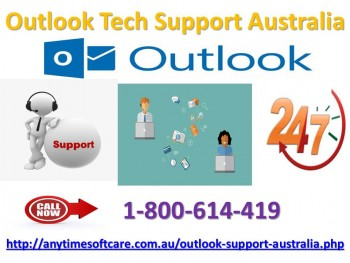 Outlook Tech Support Australia  | Obtain Instant Solution At 1-800-614-419