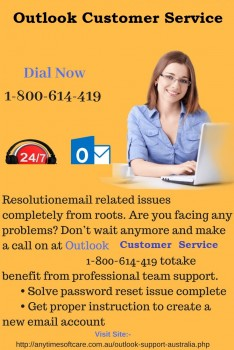 Outlook Customer Service 1-800-614-419|I