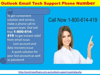 Outlook Email  Tech Support Phone Number