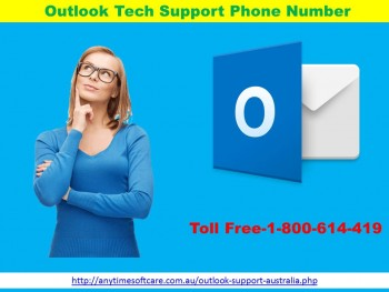 Take Help At Outlook Tech  Support Phone Number  1-800-614-419