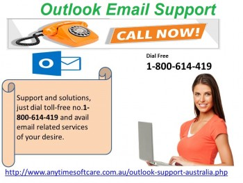 Outlook Email Support 1-800-614-419 |Sol