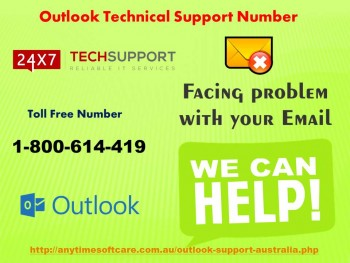 Just Call On Outlook Technical Support Number 1-800-614-419