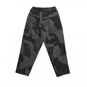 POLAR TK SURF PANTS - BLACK/GREY