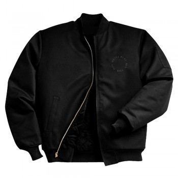HOTEL BLUE WORK JACKET - BLACK
