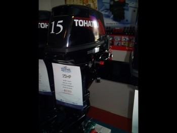 2015 TOHATSU M15D2 FOR SALE