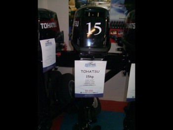TOHATSU M15D2 FOR SALE
