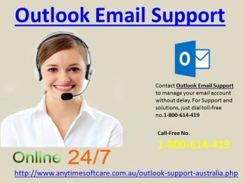 Outlook Email Support 1-800-614-419