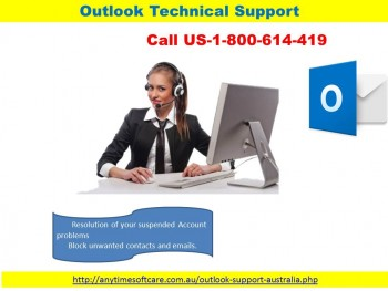 Outlook Technical Support 1-800-614-419|Login Solution