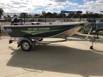 2018 CLARK 410 COD CATCHER TILLER STEER,
