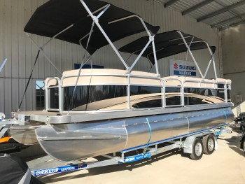 2018 BRAND NEW SEEKER PONTOON BOAT